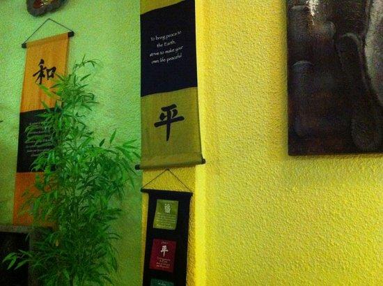 Thai Lime Twist: where we sat