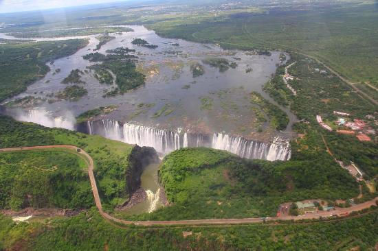 Mosi-oa-Tunya / Victoria Falls National Park: Helicopter Flights 2