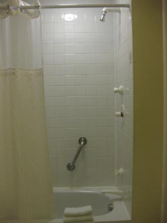 Hilton Leicester: Shower