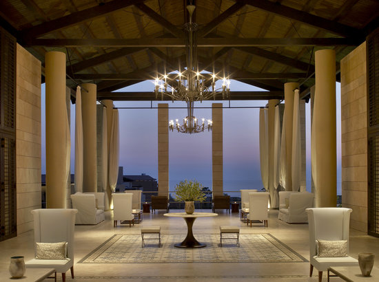Mesenia, Grecja: The Romanos Resort, Costa Navarino - Lobby Area