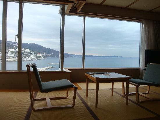 Atami Korakuen Hotel: お部屋から