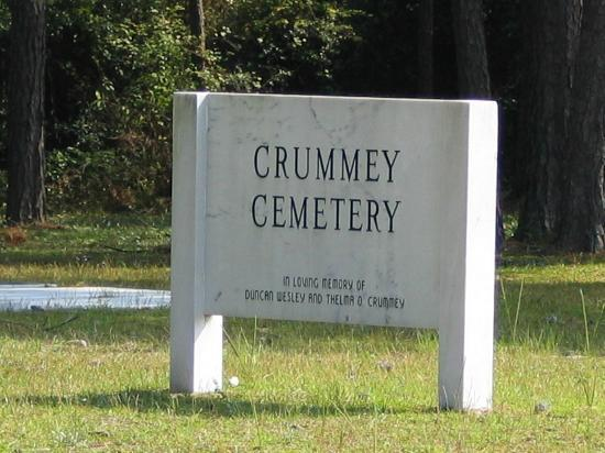 Jesup, GA: Crummey Cemetery marker will catch your eye along 169