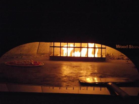 Sands Casino Resort: My pizza being made at Emeril's Italian Table