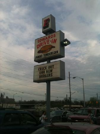 Edward's Drive-In Restaurant: Edwards drive in