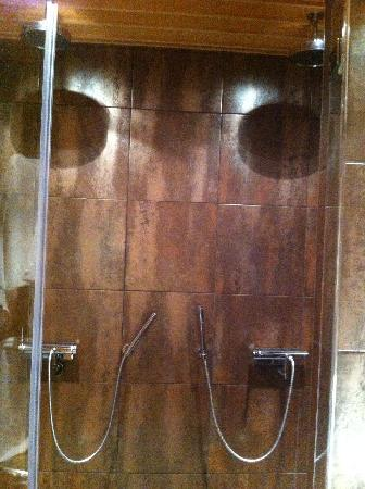 Copperhill Mountain Lodge: Extraordinary: double (!?) rain showers!