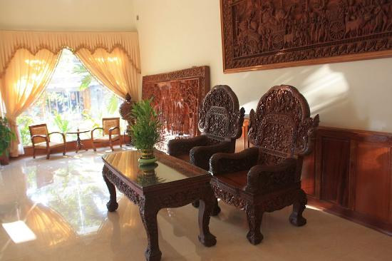 Holiday Hotel: Hotel Holiday Battambang Lobby