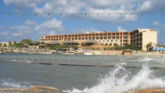 Ramla Bay Resort : Außenansicht Hotel