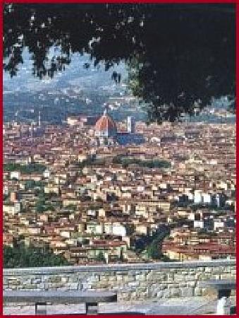 Villa Le Scalette : view of florence