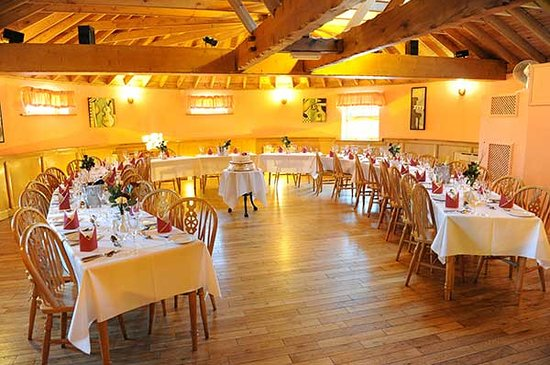 The Mill Forge: The roundhouse function room