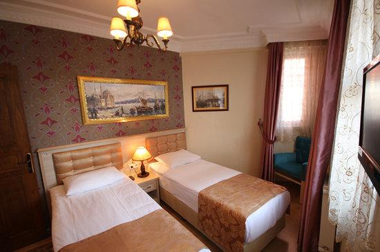 Tashkonak Hotel: Twin Room