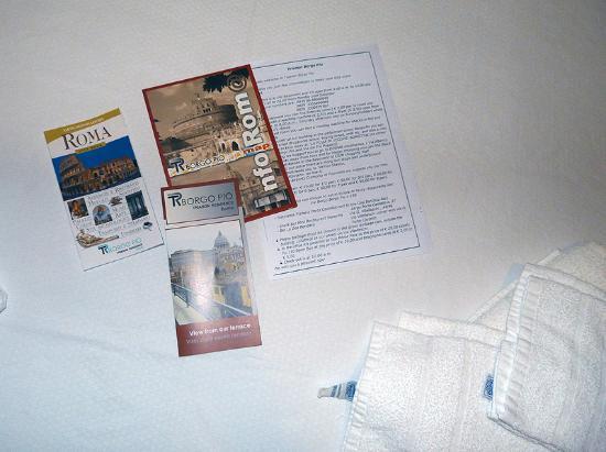 Trianon Borgo Pio Residence: Información del hotel, plano y guía de obsequio
