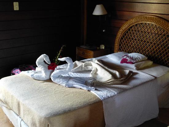 Villa Maguana: et chaque fois les lits refaits à neuf