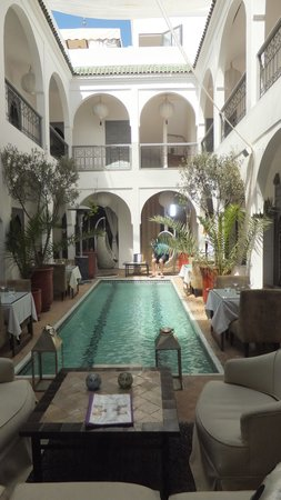 Riad Utopia Suites & Spa: Central area