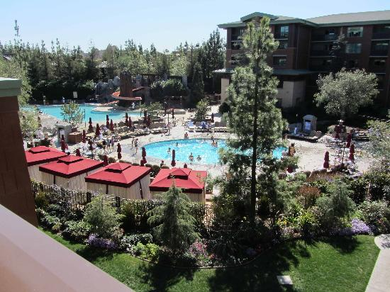 Disney's Grand Californian Hotel & Spa: Pool