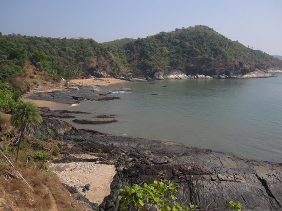 Gokarna, Indien: Looking fine from some distance