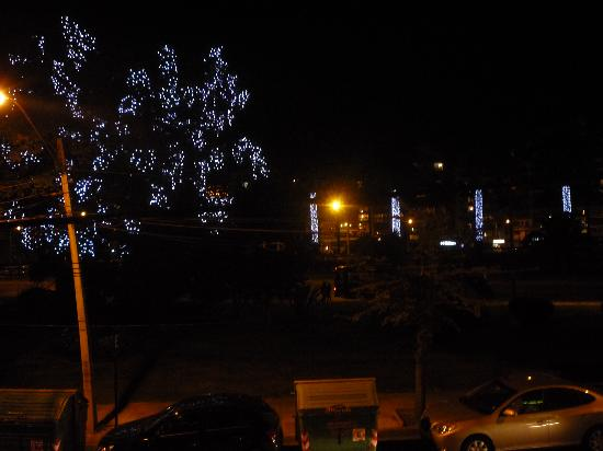 Hotel Monterilla: Night view from our window