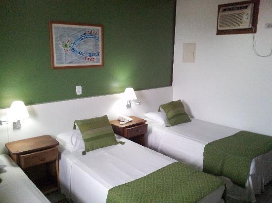 Hotel Coquille - Ubatuba: Triple Luxo Apartment (3 single beds)