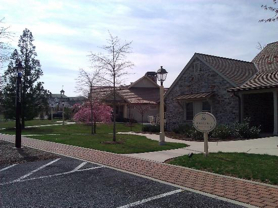 The Hotel Hershey : outside view of cottages