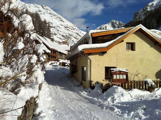 Restaurant Le Melezin: Le Mélèzin en hiver
