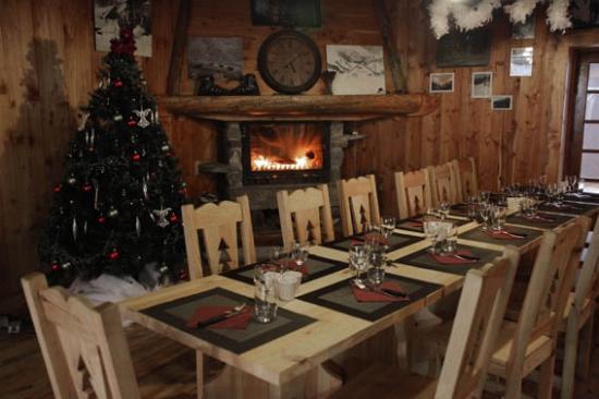 Restaurant Le Melezin: Au coin du feu