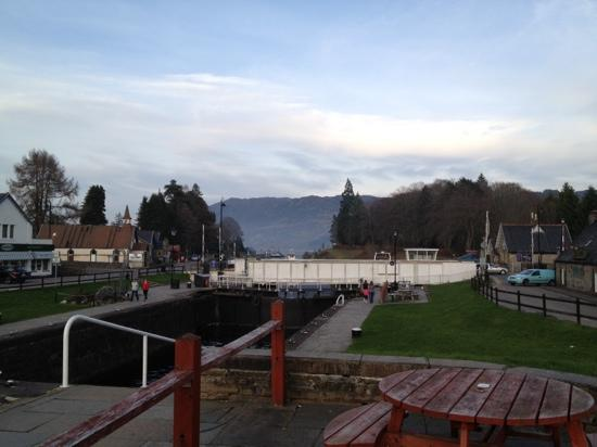 Fort Augustus Chalet Park: one minutes walk from the part