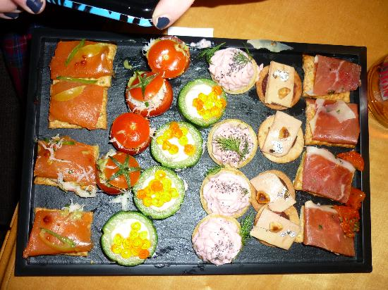 Fauchon: Appetizer plate for 50€