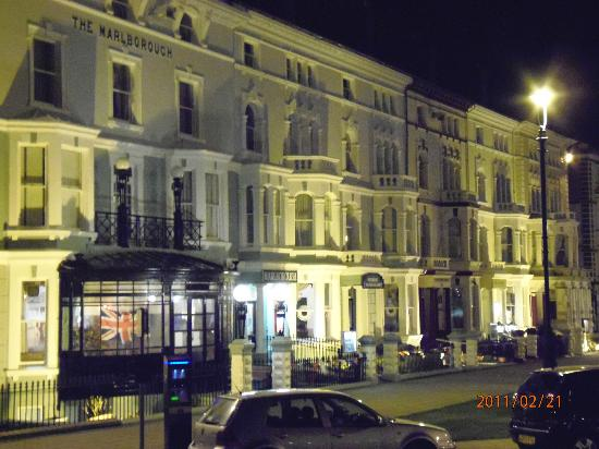 The Marlborough Hotel: view from accross the street