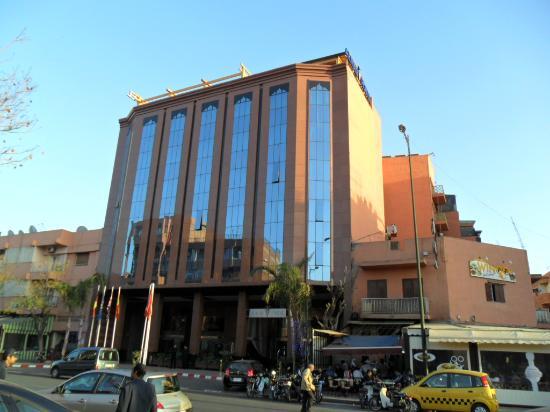 Hall photo de hotel almas marrakech tripadvisor for Rechercher un hotel