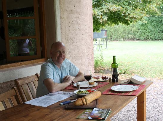 Posada Cavieres Wine Farm: lunch
