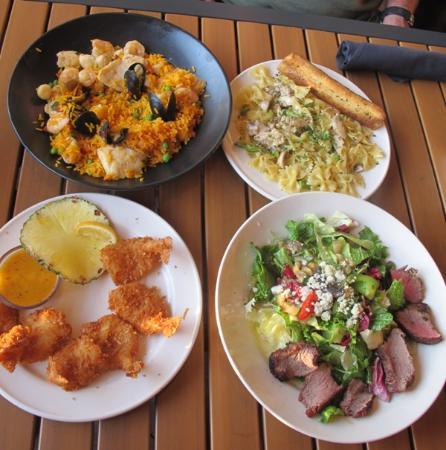 Bahama Breeze: Good food