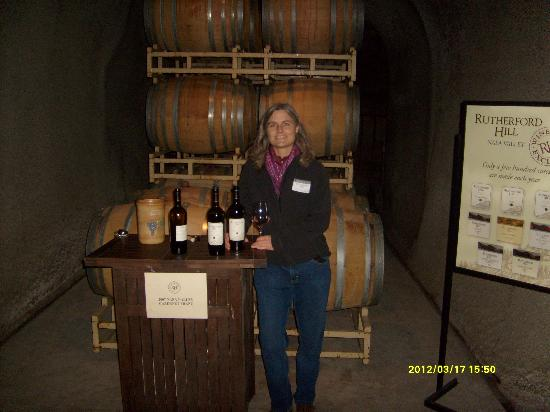Rutherford Hill Winery: In the cave with a Cabernet