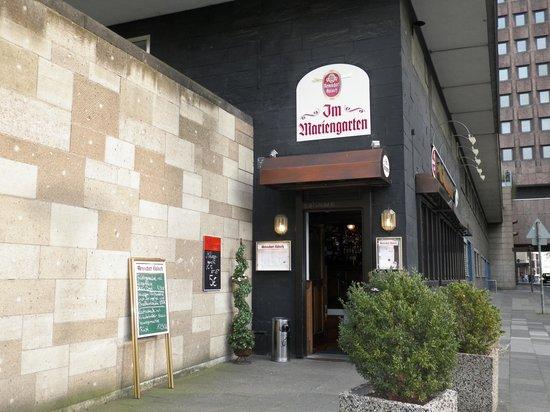 GASTSTAETTE IM MARIENGARTEN: Restaurant from Outside