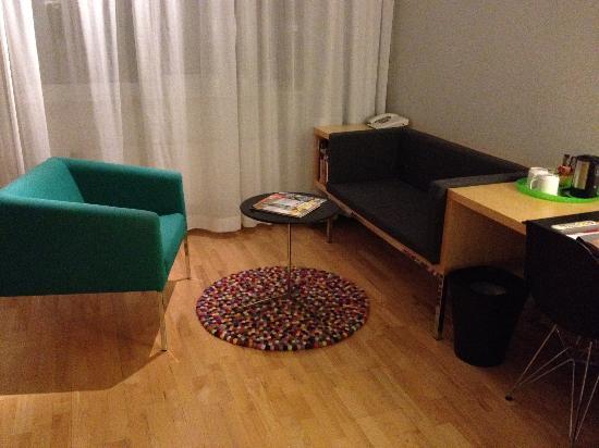Mornington Hotel Stockholm Bromma : double room