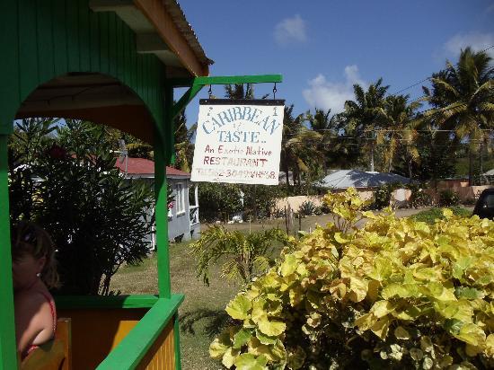 Luxury Safari Antigua: Where you eat lunch