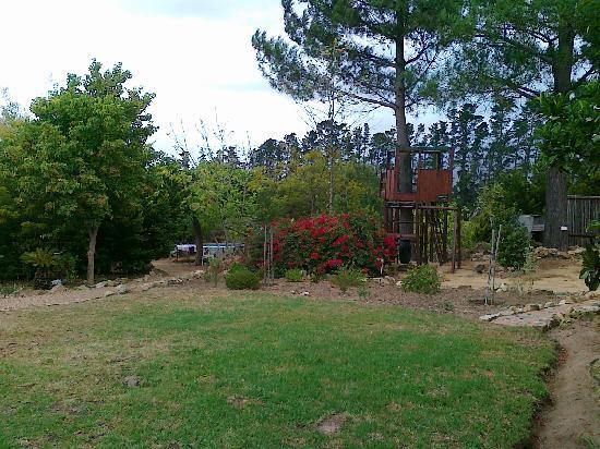 Cape Country Living Guesthouse: vom Parkplatz des Guesthouses aufgenommen