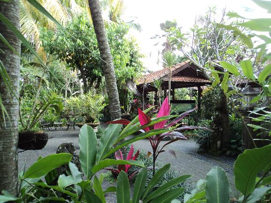 Taman Harum Cottages: in front of our room