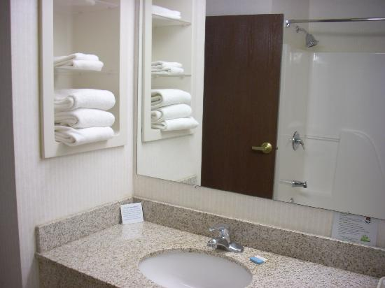 Best Western Plus Saratoga Springs: Bathroom
