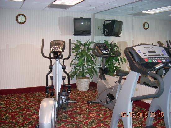 BEST WESTERN Plus Saratoga Springs: Gym