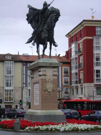 Plaza del Mio Cid: Plaza del Mío Cid, Burgos.