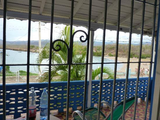 Casa Vista El Mar: vue de la 1ere chambre