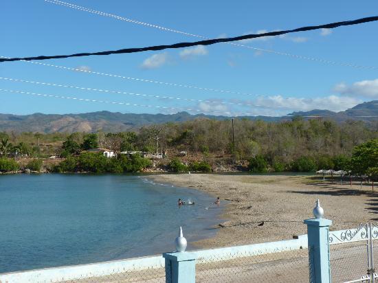 Casa Vista El Mar: vue de la terrasse