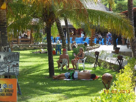 Praia de Paripueira: Estrutura para os turistas