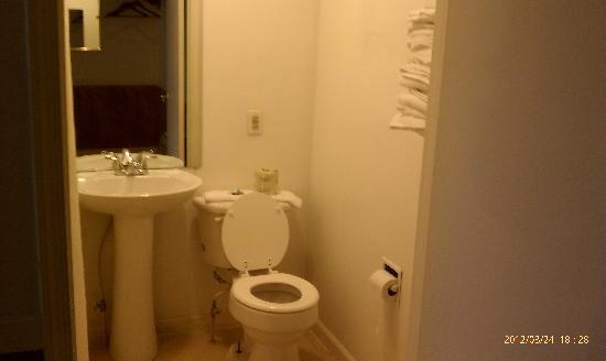 Country Hearth Inn and Suites Delmar : Toilet