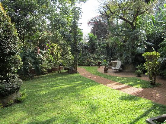 The 140: Back gardens - gorgeous with quiet reading nooks and places to pray or meditate