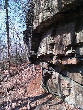 Rutland Brook Wildlife Sanctuary: Outcroppings on Porcupine Ledge Loop