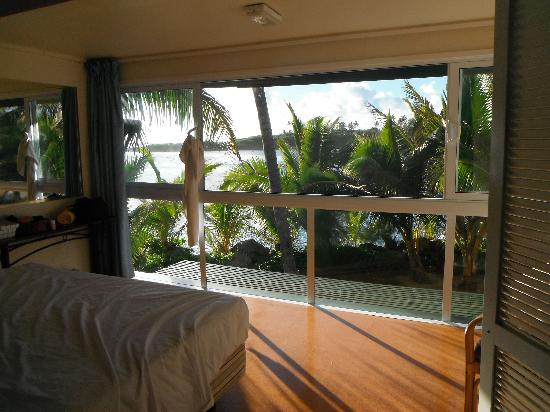 Avana Waterfront Apartments: Master bedroom view