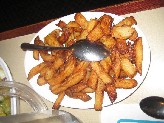 Wright's Farm Restaurant: Fries