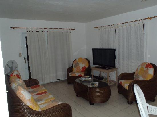 L'Esperance Hotel: Living area