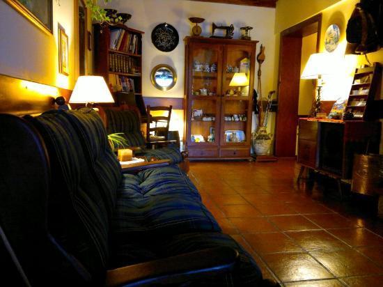 Hotel Sirenuse: Sala de estar