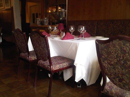Excelsior Inn Elegant Dining Room